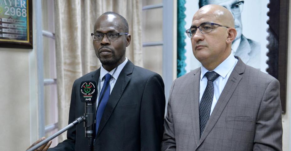M. Assad reçoit M. Fafa Lang de l'Académie africaine des langues