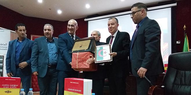 APS - Hommage à Idres Abdelhafid à l'occasion de la sortie de son Grand dictionnaire Français-Tamazight