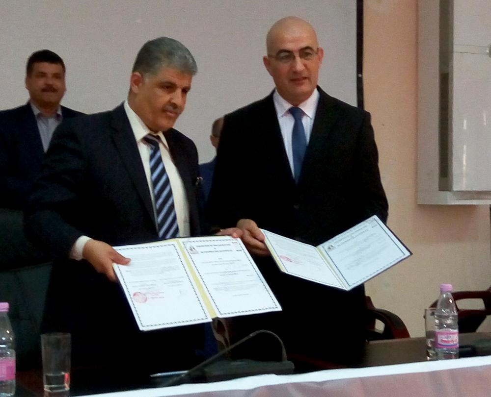 Visite de M. Assad à El Oued : signature d'une convention de collaboration HCA / Université Hamma Lakhdar