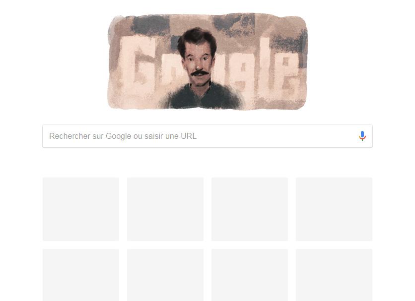 Huffpost - Google célèbre le 90e anniversaire de la naissance de M'Hamed Issiakhem