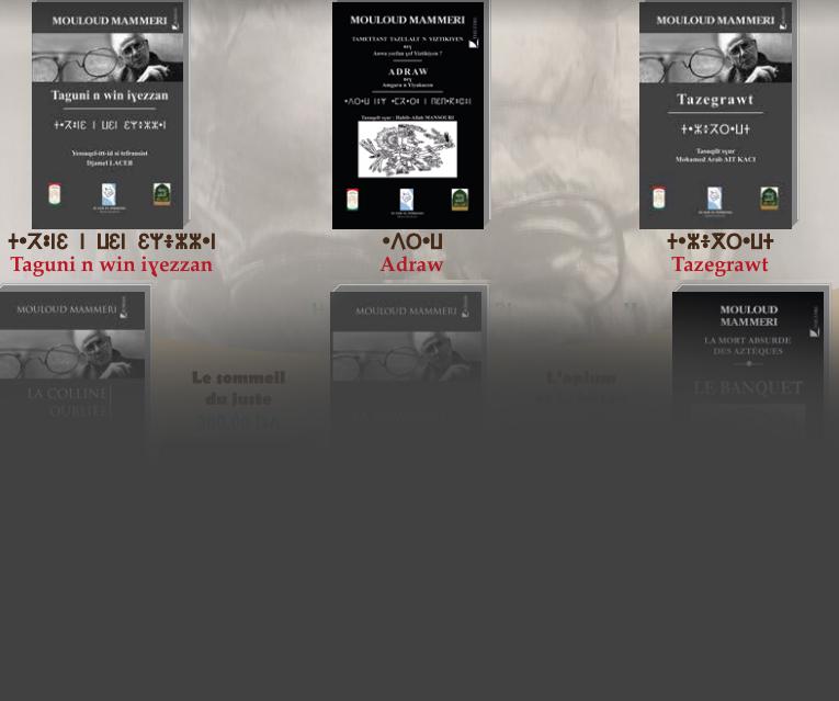 Colloque : La traduction amazighe au service de la recherche en sciences humaines et sociales