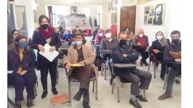 Reprise des cours de Tamazight pour apprenants adultes au siège du HCA pour l'année scolaire 2020/2021