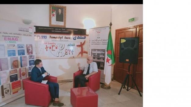 Mass Si El Hachemi Assad, Amaray Amatu n usqamu Unnig n Timmuzɣa iga yiwet n tdiwennit akked uneɣmas n Berbere Télévision Hamou Merzouk