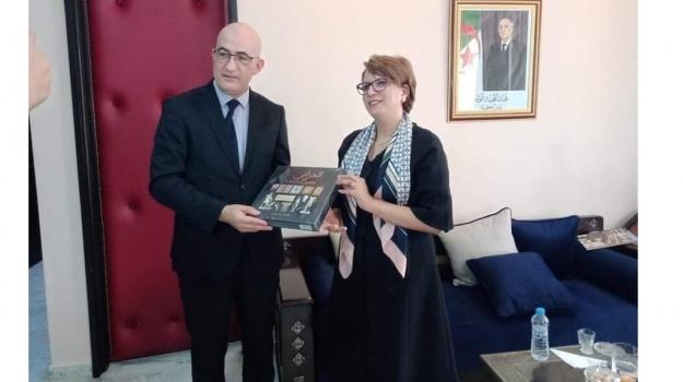 لقاء تشاوري بين  الأمين العام للمحافظة السامية للأمازيغية و  وزيرة الثقافة و الفنون،