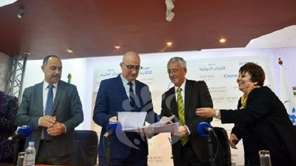 APS - Signature d'une convention de coopération entre le HCA et l'EPTV pour la promotion de tamazight