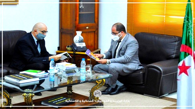 Le Ministre de la poste et des télécommunications, M. Ibrahim Boumzar, a reçu le 16 juillet 2020 au siège de son ministère, le Secrétaire Général du Haut Commissariat à l'Amazigité, M. Si El Hachemi Assad.  Cette rencontre consultative a été l'occasi